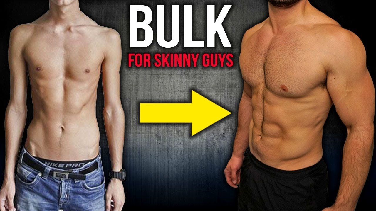 How to Build Muscle and BULK For SKINNY GUYS (Workout and